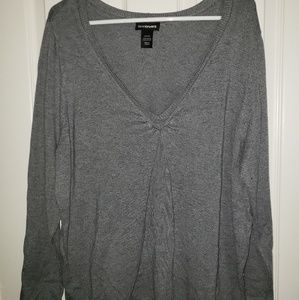 Lane Bryant Gray Sweater